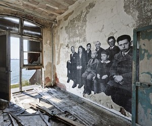 UNFRAMED Exhibition in Abandoned Ellis Island