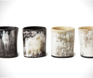 Ox Horn Whiskey Tumblers