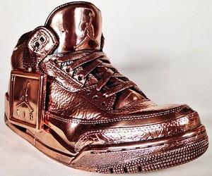 Air Jordan Bronze Sneaker Statues by Artist Msenna