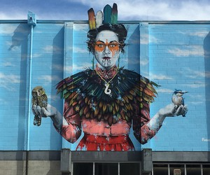 Awesome Murals by Fin DAC in New Zealand