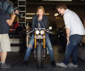 Classified Moto delivers Katee Sackhoff's bike