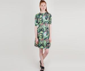 KENZO JAQUARD FOREST DRESS