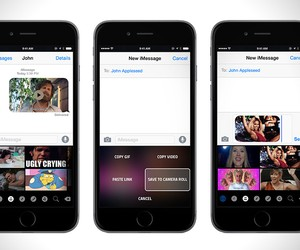 GIF iOS Keyboard App