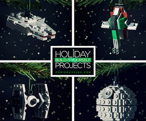 DIY Lego Ornaments