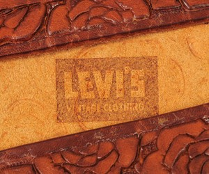 ROSE BELT BROWN BY LEVI'S VINTAGE CLOTHING