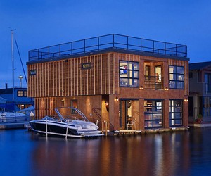 Lake Union Float Home