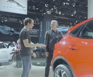 Star-DJ meets Jaguar-Designer at IAA