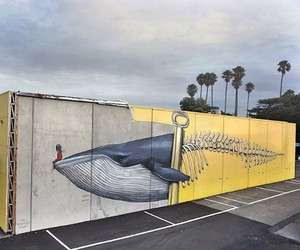 Lil' Whale Rider by Seth Globepainter