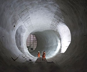 Exploring London's Crossrail Tunnels