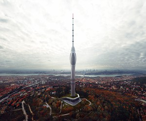 Istanbul's Futuristic Supertall TV and Radio Tower