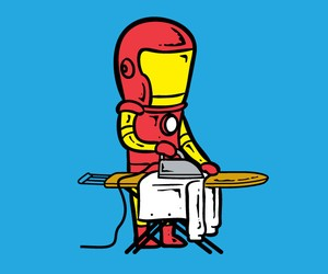 If Superheroes Got Part Time Jobs