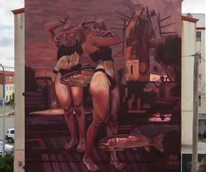 2 Brujas para Río Grande - Mural by Milu Correch