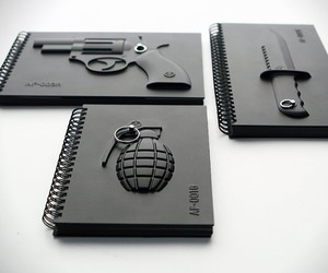 3D Armed Notebooks