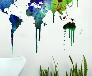 Wall Map Decals For Your Space
