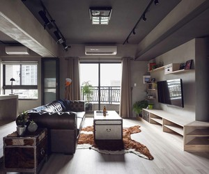 Taiwan-Based Industrial Bachelor Pad