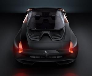 Peugeot Onyx Hybrid Vehicle