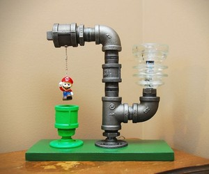 Mario Pipe Lamp