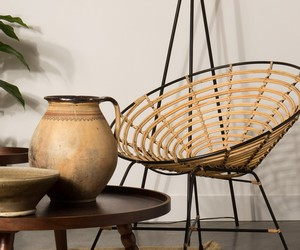 Rattan Round Lounge Chair