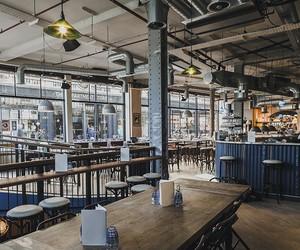 Cattivo Restaurant and Bar, London, UK / Red Deer
