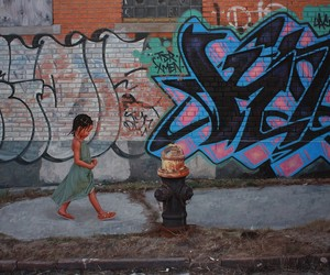 Portraits Of Children In A Graffiti-Colored World