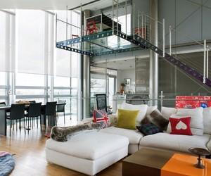 A Steel Glass Penthouse in London
