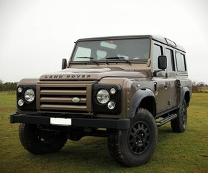Corvette Powered Land Rover Defender