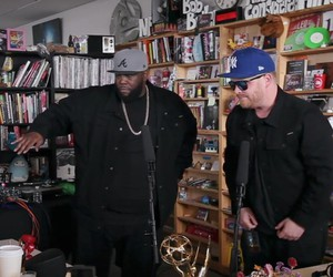 Run The Jewels perform dynamic Tiny Desk Concert