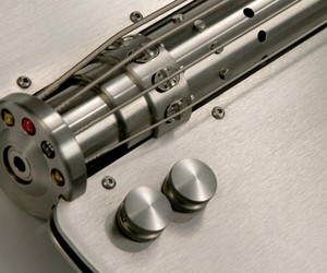 Stainless Steel Guitar by Stan Potyrala