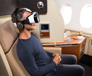 Qantas Introduces Virtual Reality Experience