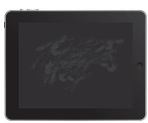 Fingerprints on iPad screen