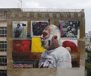 Awesome Portrait-Mural by Sebas Velasco in Italy