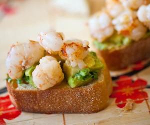 Shrimp & Avocado Bruschetta
