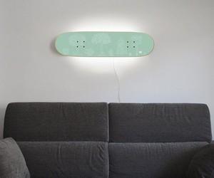 Skateboard Lamp Casper White Tree
