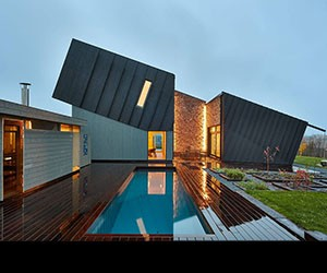 A True Zero Energy House Rises in Norway