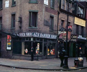 New York 1940's in Color