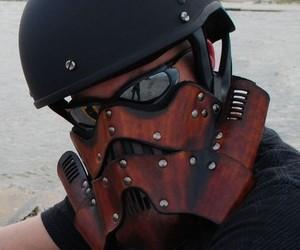 Steampunk Stormtrooper Motorcycle Mask