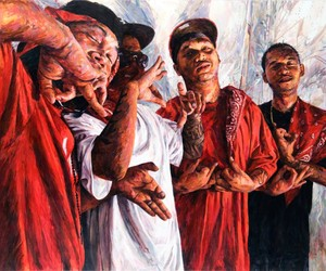 THIS CRAZY LIFE - Figurative Paintings Of Gangs