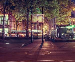 Basketball Hoops Across New York City