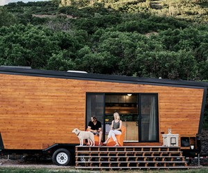 DIY Woody Trailer Home