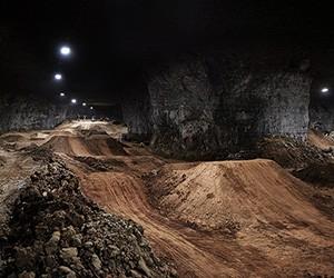 Amazing Underground Bike Park