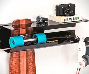 Wall Ride Skateboard Rack