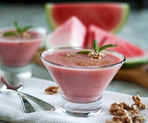 Chilly Watermelon Soup