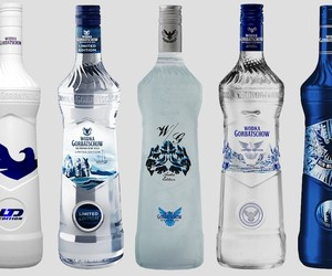 Choose the new Wodka Gorbatschow Design