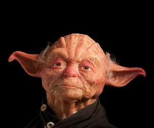 Human Like Yoda Sculpture