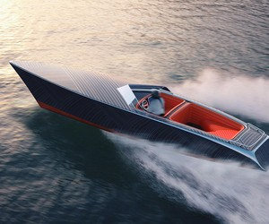 Zebra: An Electric Boat With A Classic Look Design