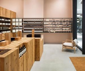 Aesop Grand Front Osaka store by Torafu Architects