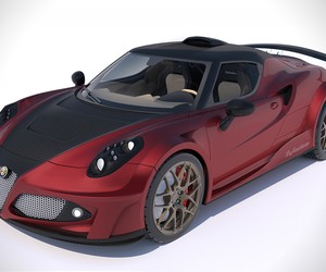 Ferrari Powered Alfa Romeo 4C