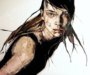 The impressive painting by Anna Bocek