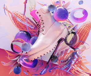 Antoni Tudisco creates an artwork for Timberland