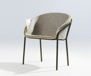 The Feuilleté chair by Lili Gayman + Julie Arrivé